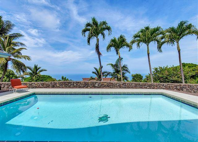 Amazing Ocean Views from Private Pool - Ocean Views From Almost Every Room & Solar Heated Salt Water Pool Pu'uwai - Kailua-Kona - rentals