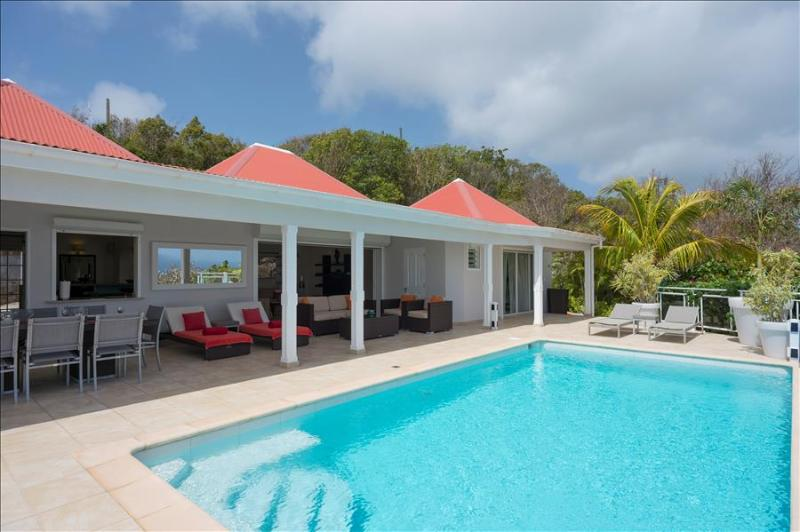 Au Coeur Du Rocher at Vitet, St. Barth - Ocean View, Pool, Very Private - Image 1 - Vitet - rentals