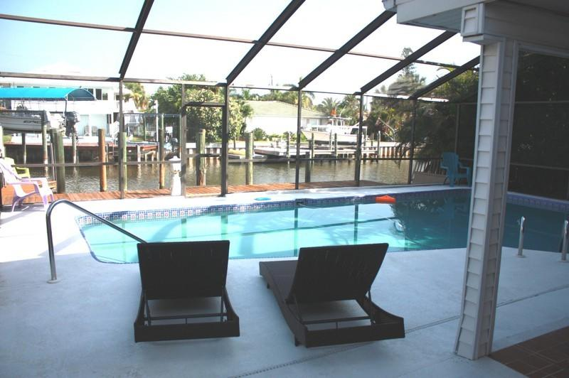 "Approx. 5-6 minutes walk to the beaches - GIGA-HOMES ""ALBATROSS at the Beach"" Waterfront NEW - Fort Myers Beach - rentals"