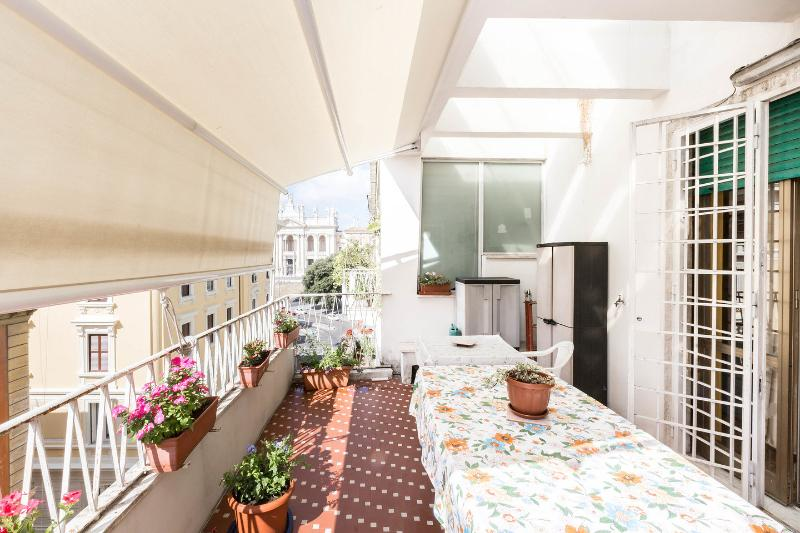 Terrace - 4 bedroom central holiday home in Rome 8 people - Rome - rentals