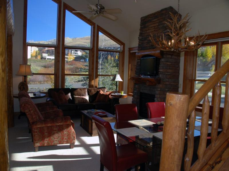 Luxurious Condo ski in/out.  Hot tub!  Walk to the slopes - Image 1 - Crested Butte - rentals