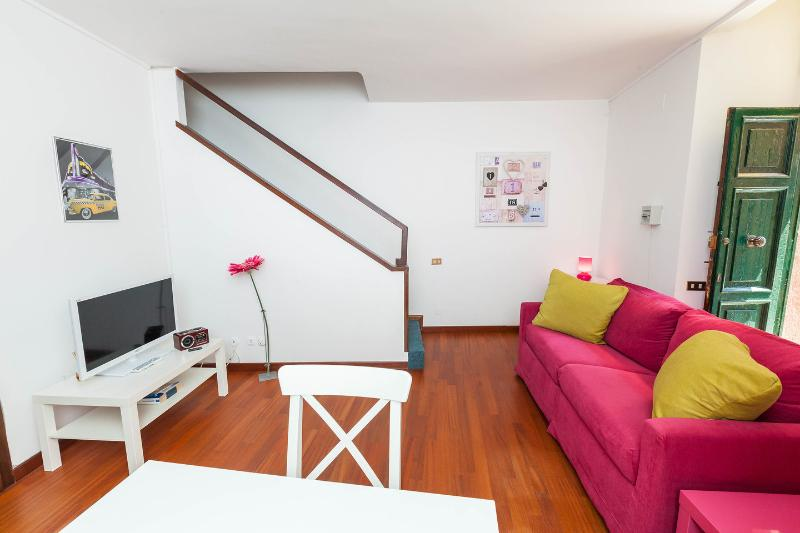 Living room - Palazzo Velli - Angelo Brunetti Suite - Rome - rentals