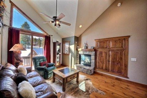 Great Decor and Large Flat Screen TV Behind Doors - Saddlewood - Breckenridge - rentals