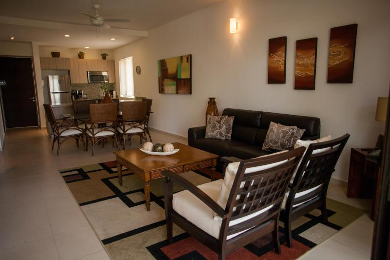 Open Concept - TAO Inspired Living  Two bedroom/Two Bath Ground Floor Condo - Akumal - rentals