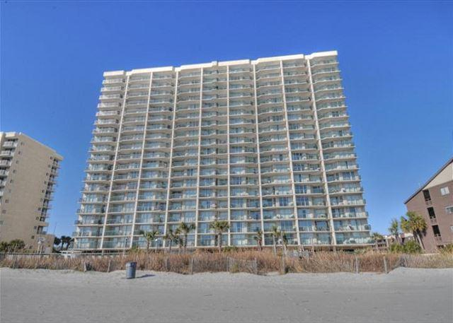Ashworth Building - Spacious 2 Bedroom oceanfront condo with great pool amenities!!! - North Myrtle Beach - rentals