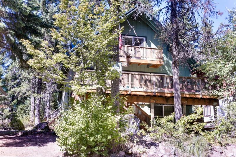 Cozy, dog-friendly mountain chalet with private hot tub! - Image 1 - Government Camp - rentals