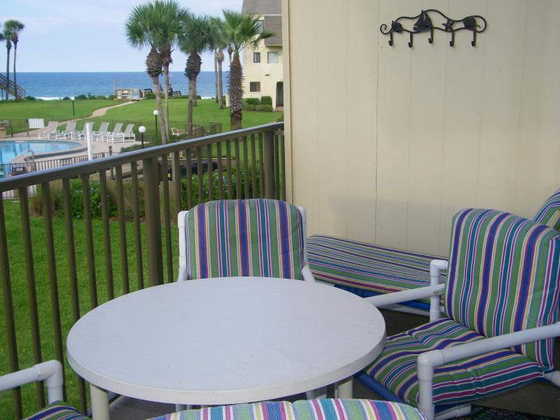 View of Ocean from Condo Balcony - Summerhouse Executive Townhouse, GreatOcean Views - Saint Augustine - rentals