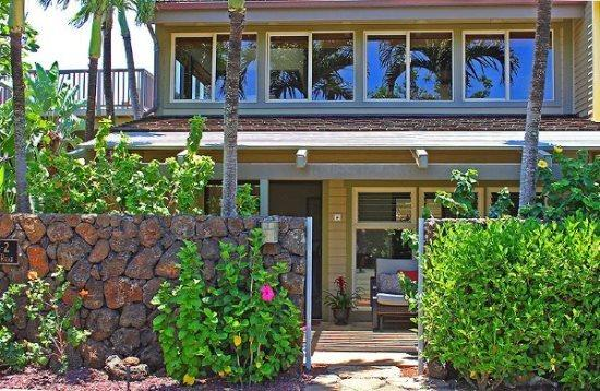 Front of Makanui Bungalow - Makanui Bungalow Private with upstairs ocean views. FREE mid-size car. - Poipu - rentals