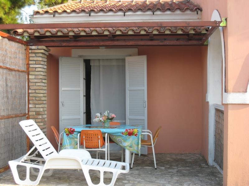 Family Studio No1-Veranda - ALMIROS FAMILY STUDIO No1 - Acharavi - rentals