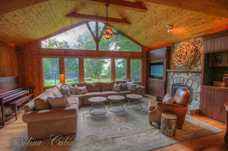 Living Room - Beech Haven - Beech Mountain - rentals