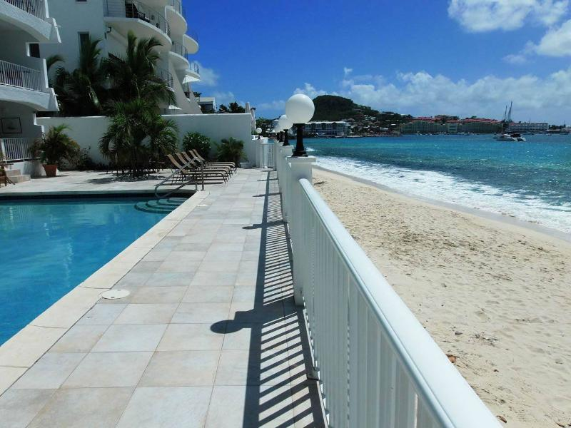 SIMPSON BAY BEACH CONDO #2...located right on the beach at beautiful Simpson Bay - Image 1 - Simpson Bay - rentals
