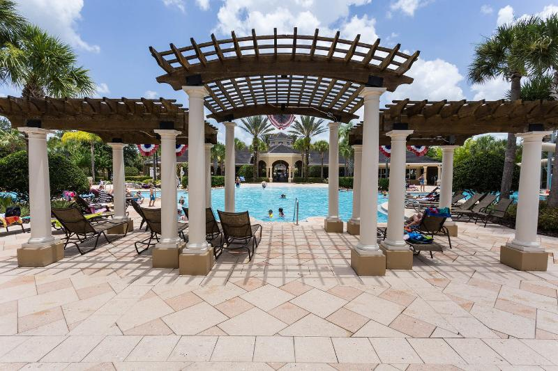 The Community Pool - Well Appointed 3 Bedroom Condo in Windsor Hills, 1 - Kissimmee - rentals