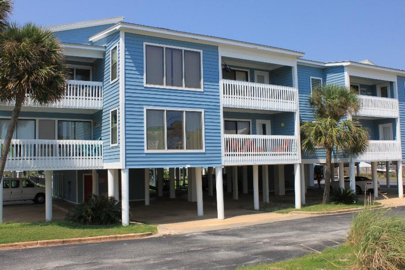 Sea Oats 102C-Gulf View! Steps from Beach! Lagoon side! - Image 1 - Gulf Shores - rentals