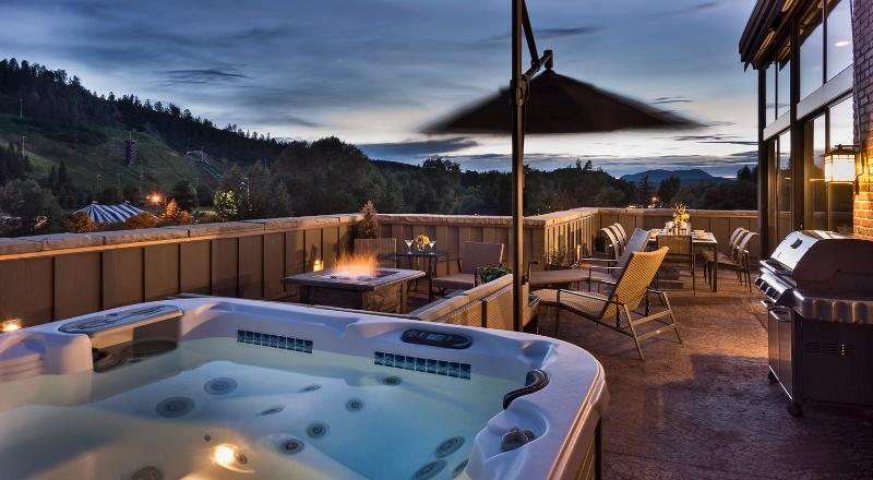 Specatcular views - The Governors Penthouse at the Olympian - Steamboat Springs - rentals