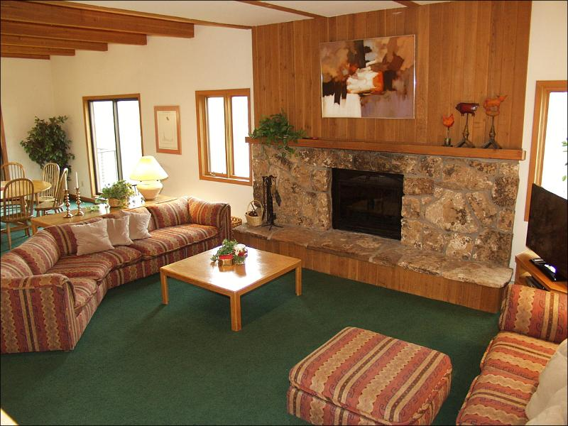 Living Room - Newly Remodeled Kitchen - Perfect for 2 Familes or 5 couples (1403) - Snowmass Village - rentals