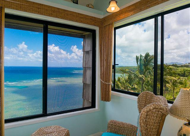 Sealodge G9: Amazing views plus privacy in this top floor 1br/1ba - Image 1 - Princeville - rentals