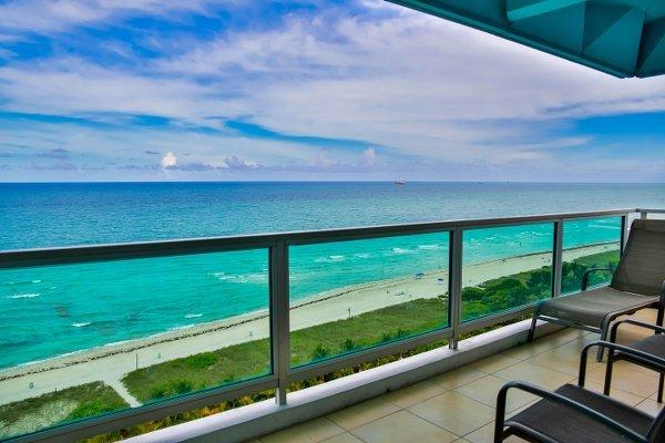 Oceanfront 4BR/4BA in Miami Mid Beach - Pool/Beach Access/Onsite Gym (2BR+2BR) - Image 1 - Miami Beach - rentals