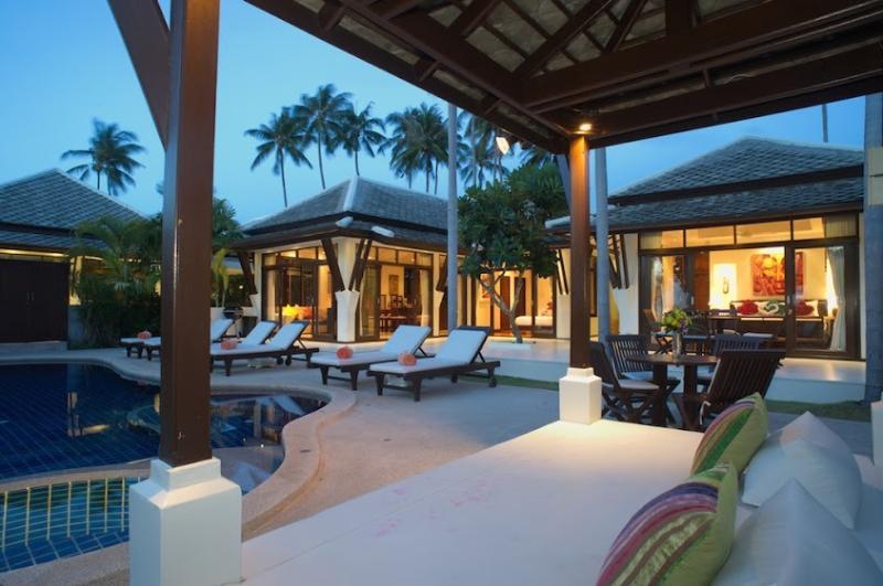 Villa 10 - Beach Front (1 Bedroom Option) - Image 1 - Plai Laem - rentals