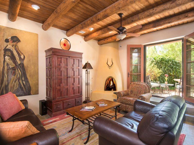 Living Room - Adobe Destinations - Quiet Luxury at El Corazon - Santa Fe - rentals