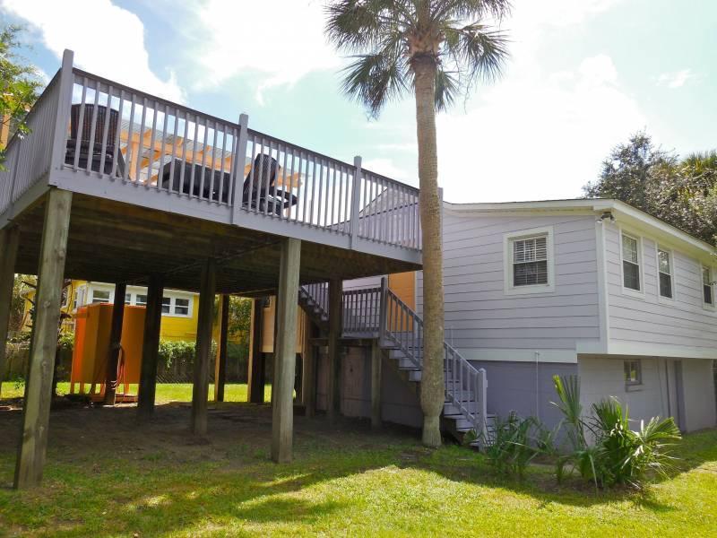 The Folly House - The Folly House - Folly Beach, SC - 3 Beds BATHS: 2 Full - Blue Mountain Beach - rentals