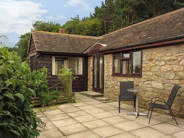 BURROWS END, detached stone lodge, ground floor, WiFi, woodburner, bike - Image 1 - Wheathill - rentals