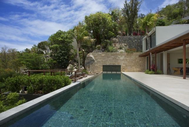 Villa Artepea St Barts Rental Villa Artepea - Image 1 - Pointe Milou - rentals