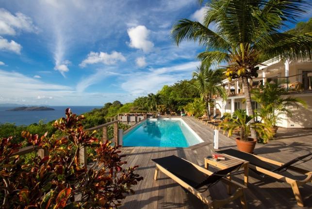 Villa Villa Sky St Barts Rental Villa Villa Sky - Image 1 - Saint Barthelemy - rentals