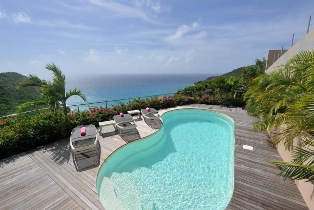 Villa Gouverneur Cliff St Barts Rental Villa Gouverneur Cliff - Image 1 - Gustavia - rentals