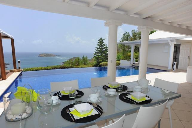Villa Bel Ombre St Barts Rental Villa Bel Ombre - Image 1 - Pointe Milou - rentals