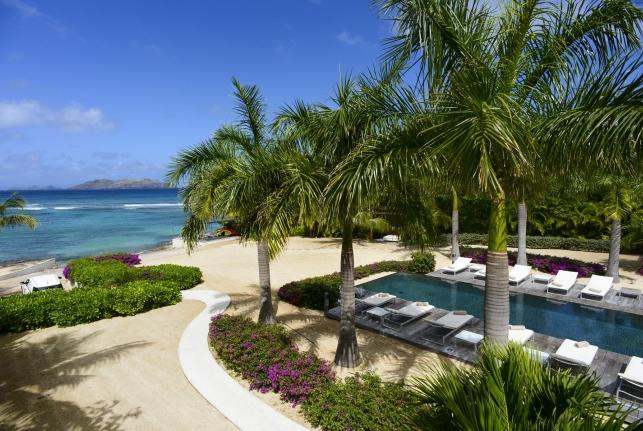 Villa Palm Beach St Barts Rental Villa Palm Beach - Image 1 - Saint Jean - rentals
