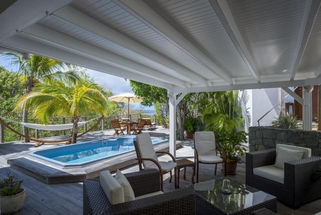 Villa Letchi St Barts Rental Villa Letchi - Image 1 - Pointe Milou - rentals