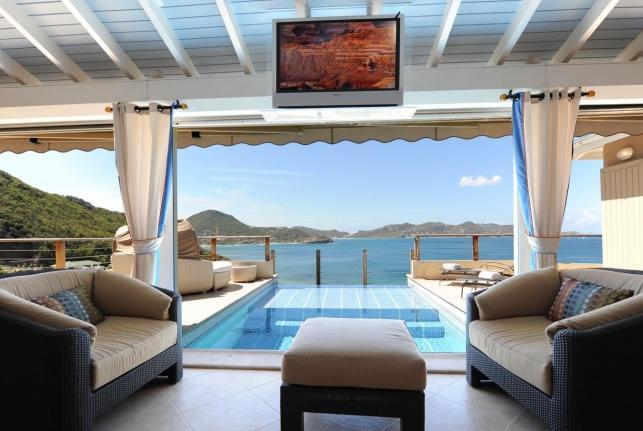 Villa C'est la Vue St Barts Rental Villa C'est la Vue - Image 1 - Lurin - rentals