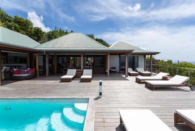 Villa Panoramique St Barts Rental Villa Panoramique - Image 1 - Marigot - rentals