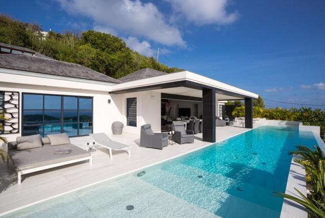 Villa Rose Dog St Barts Rental Villa Rose Dog - Image 1 - Vitet - rentals