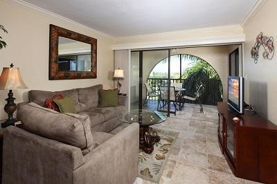 Living Area - Anglers Cove, C506 - Marco Island - rentals