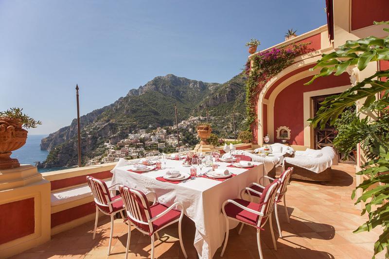 Villa Dorata, Sleeps 9 - Image 1 - Positano - rentals