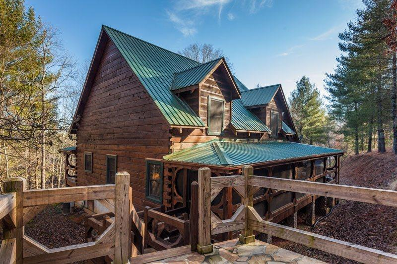 Little Piece of Heaven - This vacation cabin is located just north of Blue Ridge about 2 miles. - Image 1 - Blue Ridge - rentals