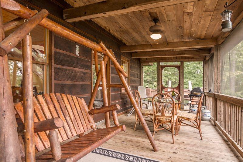 Jacob's Ridge Hideaway - A beautiful pet friendly cabin rental with scenic views near Blue Ridge - Image 1 - Blue Ridge - rentals