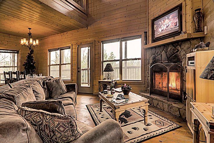 Open living area - R&R Retreat - Spectacular Long Range Mountain Vie - Blue Ridge - rentals
