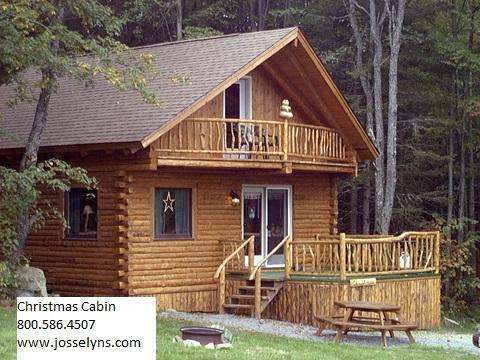 Our Christmas cabin. Other Cabin options also available. - Log cabin getaway the heart of the white mountains - Jefferson - rentals