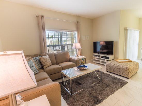 Luxurious 4 Bedroom 3 Bath Pool Townhome in Storey Lake Resort. 4807CTD - Image 1 - Orlando - rentals