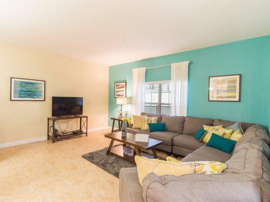 Luxurious 5 Bed 4 Bath Pool Townhome in Storey Lake Resort. 4885CTD - Image 1 - Orlando - rentals