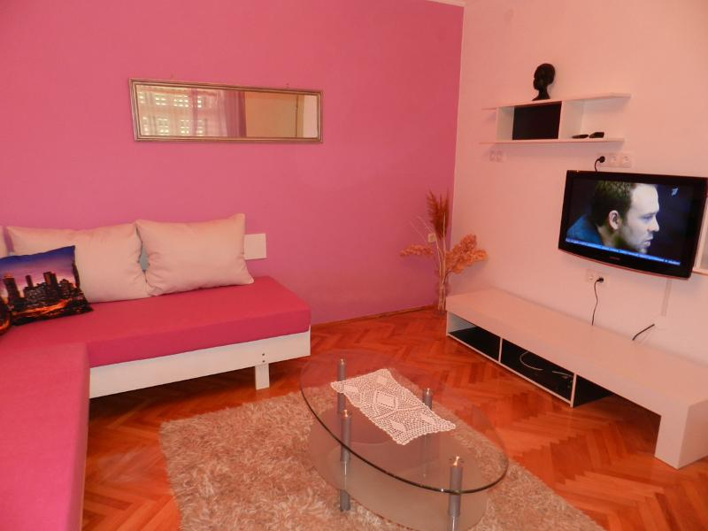 living room - Apartment A2+2 near the beach - Vodice - rentals