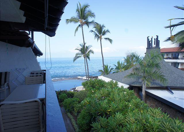 View From Lanai - Casa de Emdeko 314 -AC Included & 2 Complex Pools! - Kailua-Kona - rentals