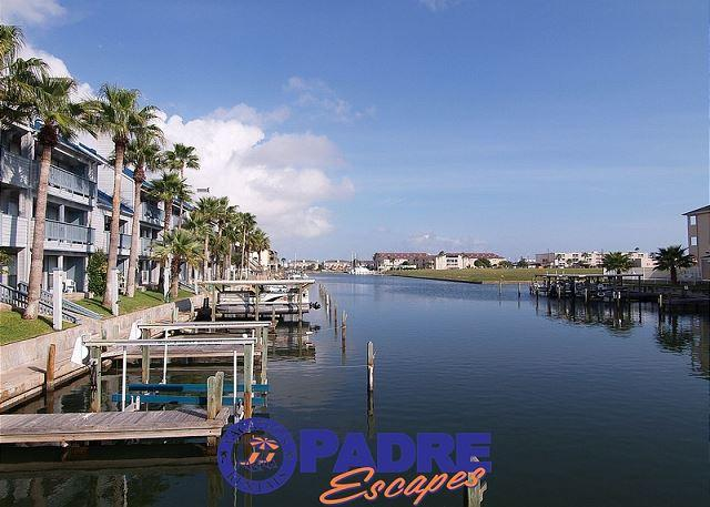 View down the canal - Come enjoy this Waterfront Hideaway for Two! - Corpus Christi - rentals