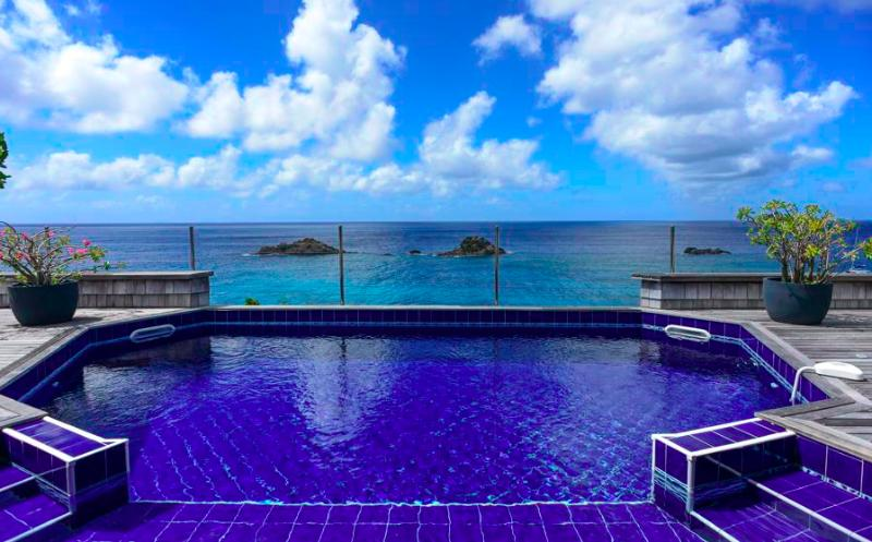 Sky Vista at Gustavia, St. Barth - Ocean View, Amazing Sunset Views, Private - Image 1 - Gustavia - rentals