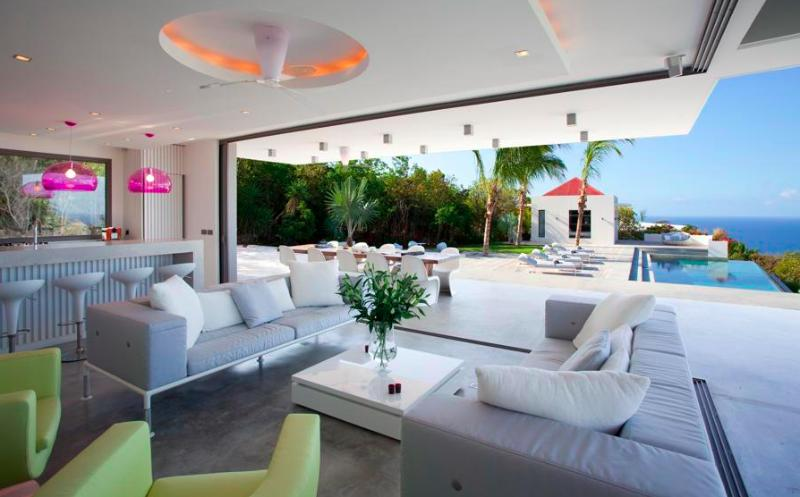 Palm Springs at Gouverneur, St. Barth - Luxury Villa, Heated Pool, Amazing Sunset View - Image 1 - Gouverneur - rentals