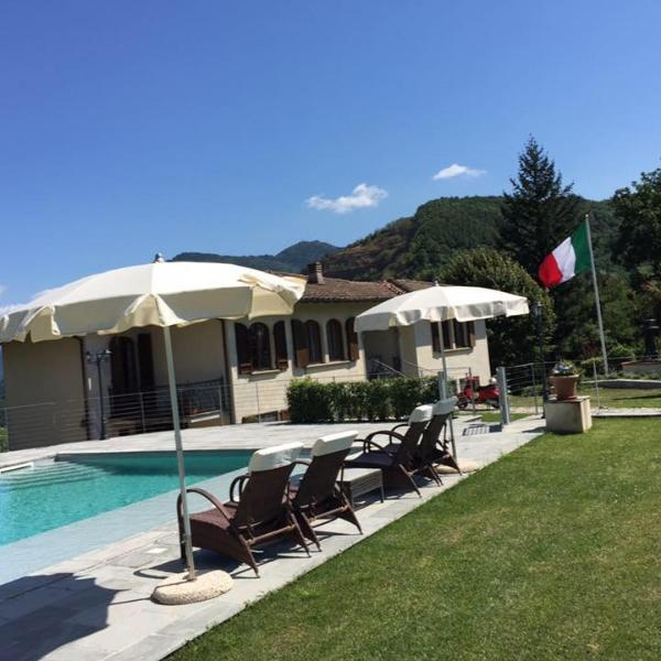 Beautiful Villa Adriano 15 min drive from Lucca ! - Image 1 - Lucca - rentals