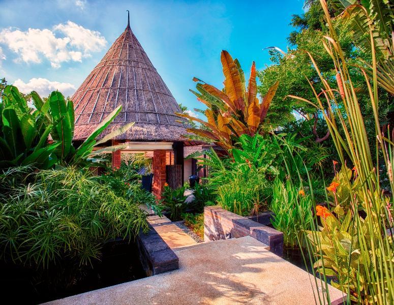 Entrance Path to Villa Tukad Pangi - Villa Tukad Pangi Bali Canggu Riverside Mod 3Bd - Canggu - rentals