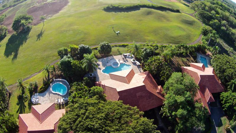 Air View Pic 1 - The Must Peaceful Place ( We Think) + GOLF - Juan Dolio - rentals